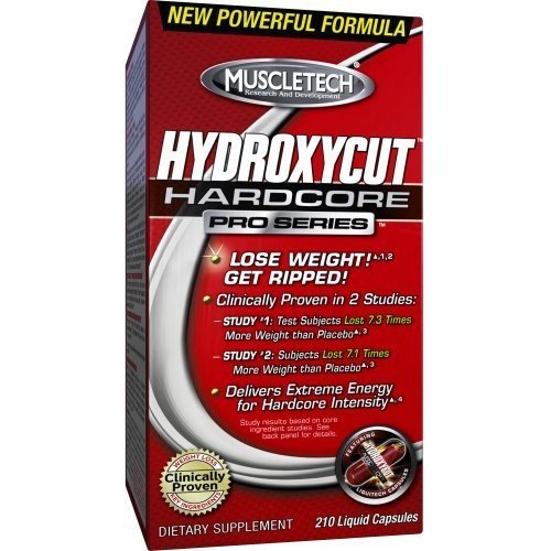 MuscleTech Hydroxycut Hardcore Pro Series -- 120 Liquid Capsules