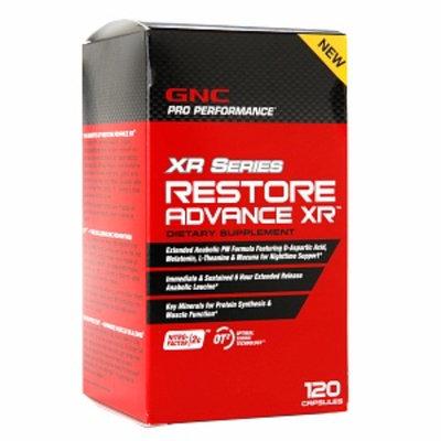 GNC Pro Performance XR Series Restore Advance XR, Capsules, 120 ea