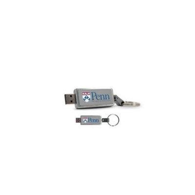 CENTON Centon Electronics DSK2C8GB-UP University of Pennsylvania Custom Logo USB Drive Keychain 8GB 8GB