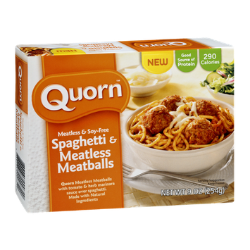 Quorn Spaghetti & Meatless Meatballs Meatless & Soy Free