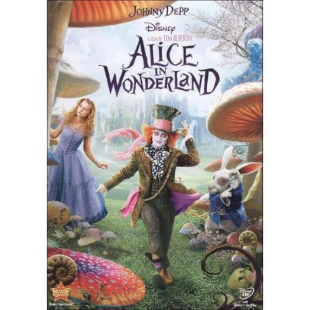 Disney Alice in Wonderland - Widescreen AC3 Dolby - DVD