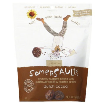 Somersault Snack Co. Somersaults Dutch Cocoa 6 oz