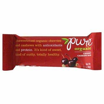 Pure of Holland Organic Gluten Free Bar Cherry Cashew Case of 12 1.7 oz