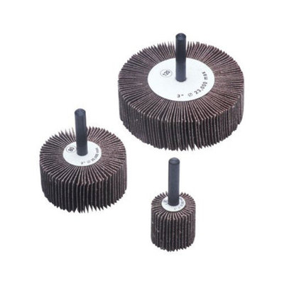 CGW Abrasives Flap Wheels - 1x1x1/4 alum oxide 60 grit flap wheel (Set of 10)