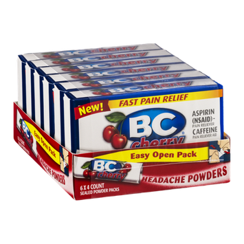 BC Headache Powders Easy Open Pack Cherry