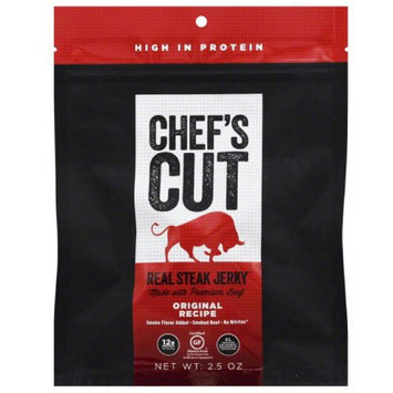 Chefscut Chef's Cut Real Steak Jerky, 2.5 oz, (Pack of 8)