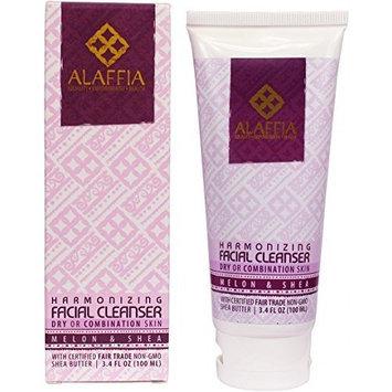 Alaffia- Melon & Shea Butter Harmonizing Facial Cleanser- 3.4 oz