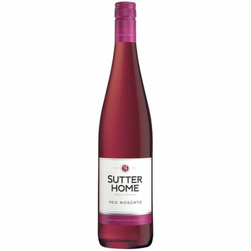 Sutter Home Red Moscato Wine