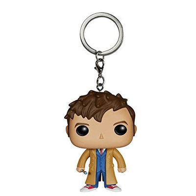 Funko Doctor Who - Dr #10 Action Figure Pocket Pop Keychain