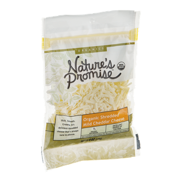 Nature's Promise Organics Cheese Cheddar Organic Shredded Mild