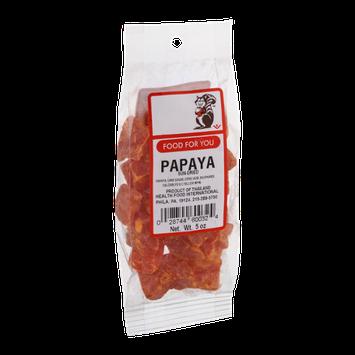 Food For You Papaya Sun-Dried