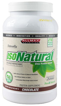 ALLMAX Nutrition IsoNatural Whey Protein Isolate - Chocolate