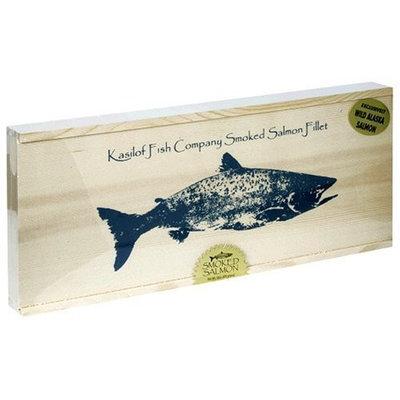 Kasilof Fish Company Alder Smoked Pacific Salmon, 16 oz