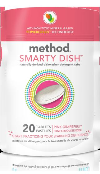 method smarty dish detergent pink grapefruit