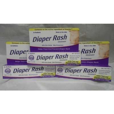Sheffield Diaper Rash Ointment Generic for Desitin 40% Zinc Oxide 2 oz 3 PACK