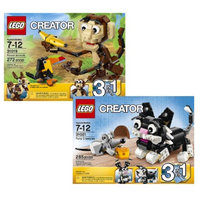 LEGO Creator Forest Animals and Furry Creatures Bundle