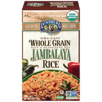 Lundberg Family Farms Organic Whole Grain Jambalaya Rice, 6 OZ (Pack of 6)