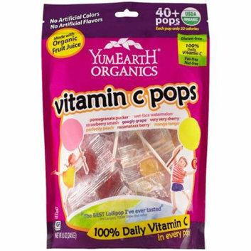 Yummy Earth Organic Vitamin C Lollipops- Over 40 Pops