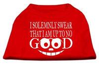 Ahi Up to No Good Screen Print Shirt Red XXL (18)
