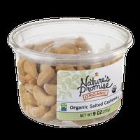 Nature's Promise Organic Cashews Salted Organic