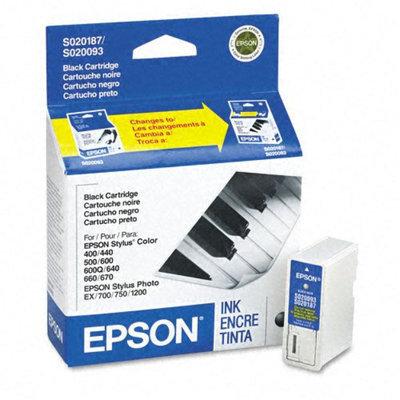 Epson S187093 Inkjet Cartridge, Black - Kmart.com