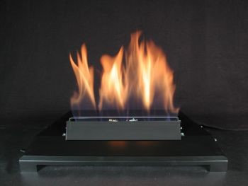 American Fireglass 30 Single Face Stainless Steel Natural Gas Burner with Manual Control