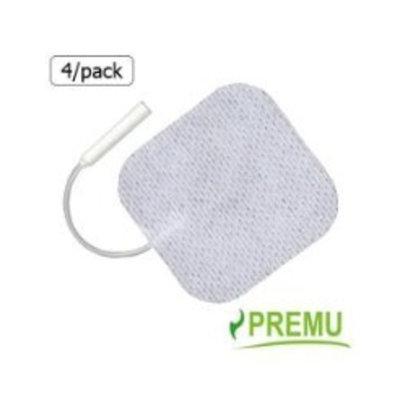 PREMU BEST SELLER 8 TENS UNIT ELECTRODE PADS, 2