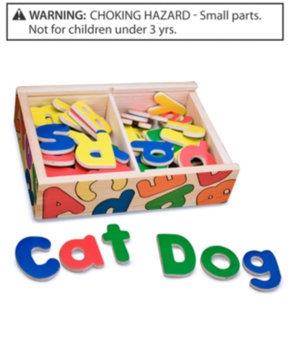 Melissa & Doug Magnetic Wooden Alphabet Kid's