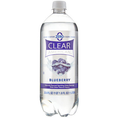 Clear American Blueberry Sparkling Water, 1 l