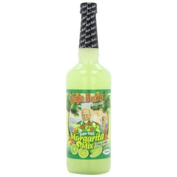 Baja Bob's Sugar Free Margarita Mix, Original, 32-Ounce Bottles (Pack of 3)
