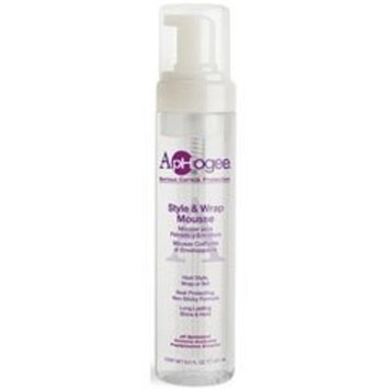 Aphogee Style and Wrap Mousse, 8.5 Ounce