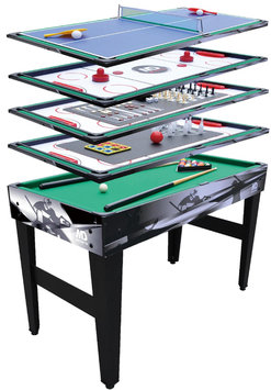 Medal Sports MD Sports 48in 12 in 1 Multi Game Table - MARIETTE SPORTS CO, LTD.