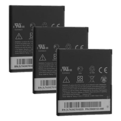 Battery for HTC BB99100 (3-Pack) Mobile Phone Battery