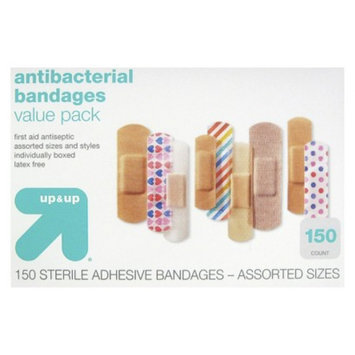 up & up up&up Antibacterial Bandages Value Pack - 150 Count