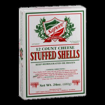 Sapore Fine Gourmet Pasta Stuffed Shells Cheese - 12 CT