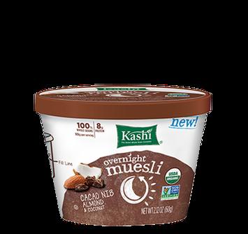 Kashi® Overnight Muesli Cacao Nib Almond