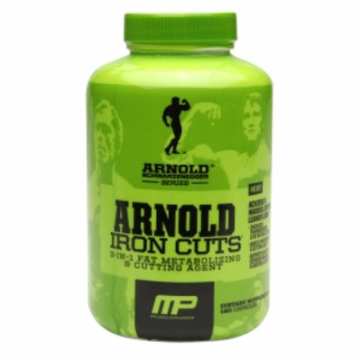 MusclePharm Arnold Schwarzenegger Series Iron Cuts, Capsules, 120 ea
