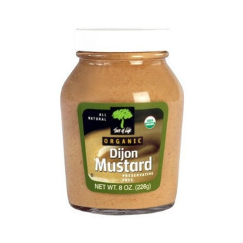 Tree Of Life, Mustard Dijon Org, 8 OZ