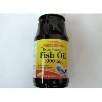 Nature's Measure Fish Oil Softgels, 30 Ct. (1)