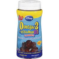 Disney Omega-3 Plus Vitamin D3 Gummy Fish Dietary Supplement