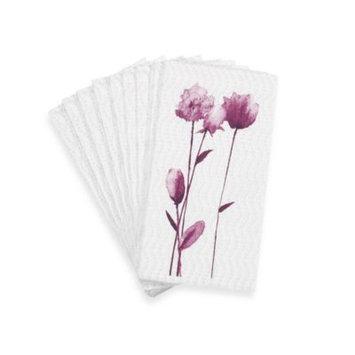 Simply Fine Lenox Watercolor Amethyst Guest Towels (Set of 16)