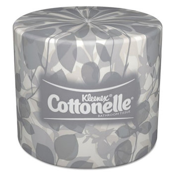 KLEENEX COTTONELLE Two-Ply Bathroom Tissue, 505 Sheets/Roll, 20
