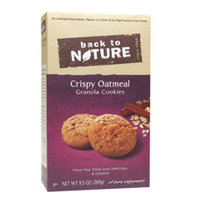 Back to Nature Oatmeal Cookie, 9.5 oz