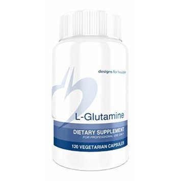 Designs for Health , L-Glutamine Capsules , 120 Capsules