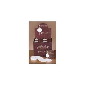 Will & Baumer 60403 Candle Paper Drip Protectors 3 In. Dia