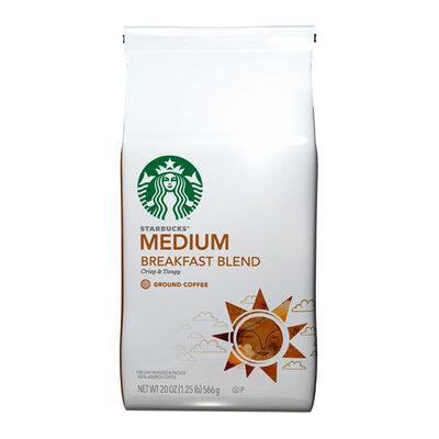 Starbucks Breakfast Blend Medium Ground Coffee