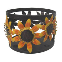 SONOMA life + style Small Sunflower Candle Sleeve