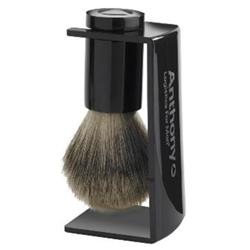 Anthony Logistics For Men Whisker Lifter Shave Brush and Stand