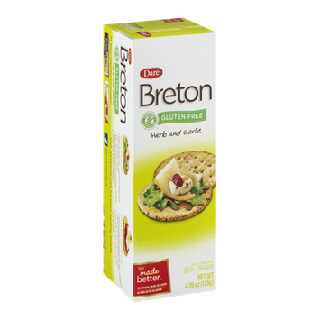 Breton Crackers Herb And Garlic