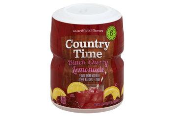 Country Time  Black Cherry Lemonade Sugar Sweetened Powdered Soft Drink